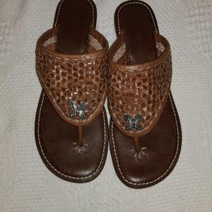 Brighton Sandals Flip Flops sz 8 1/2